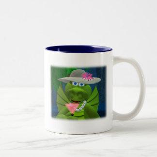 Drolly Dragons: Smart Lady Mugs