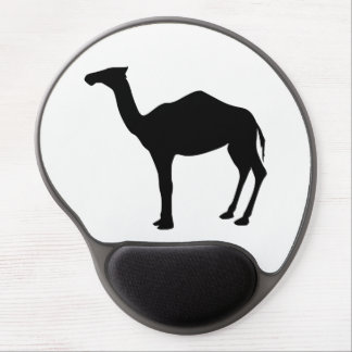 Dromedary Silhouette Gel Mouse Pad