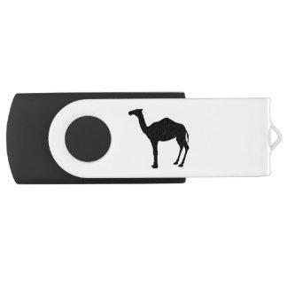 Dromedary Silhouette Swivel USB 2.0 Flash Drive