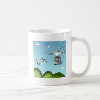 Drone Cartoon 9482 Coffee Mug