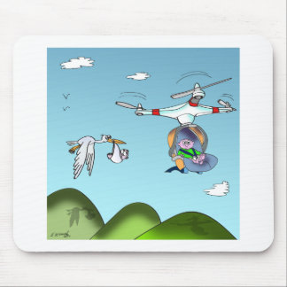 Drone Cartoon 9482 Mouse Pad