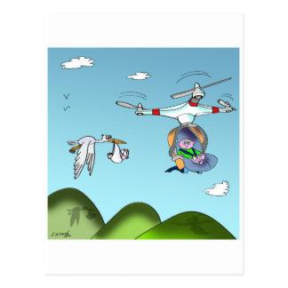 Drone Cartoon 9482 Postcard