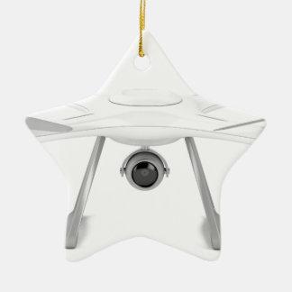 Drone Ceramic Ornament