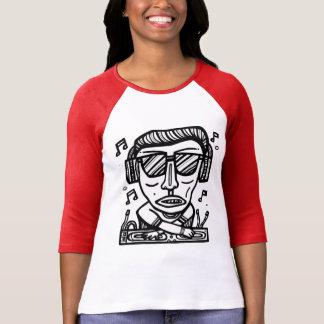 """Drone DJ 002"" Women's 3/4 Sleeve Raglan T-Shirt"