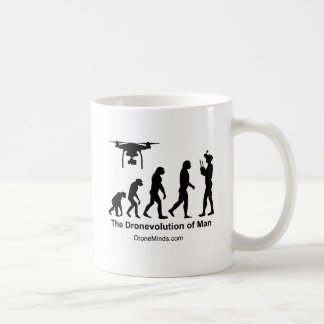 Drone Evolution of Man Coffee Mug