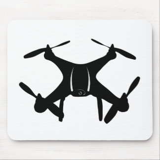 Drone Flying Mouse Pad