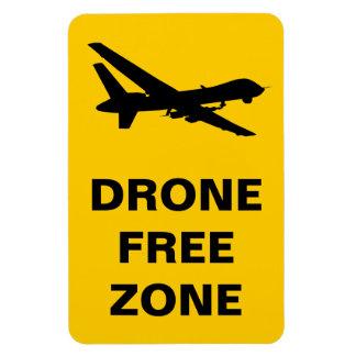Drone Free Zone Rectangular Photo Magnet