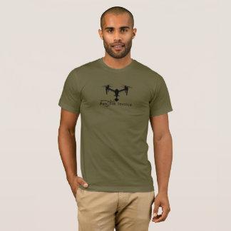Drone Freelancer Mantra DJI Inspire T-Shirt