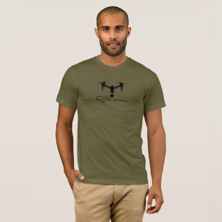Drone Freelancer's Mantra DJI Inspire T-Shirt