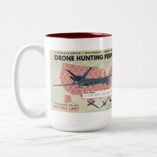 Drone Hunting Permit Mug