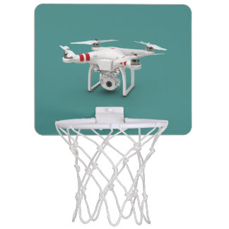 Drone phantom mini basketball hoop