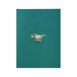 Drone phantom wood poster