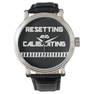 Drone Pilot Watch - Resetting and Calibrating