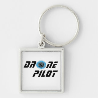 Drone pilot with eyeball key ring