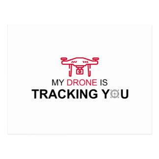 Drone Postcard