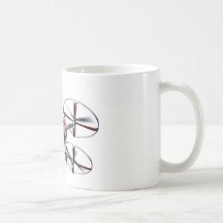 Drone quadrocopter cards coffee mug
