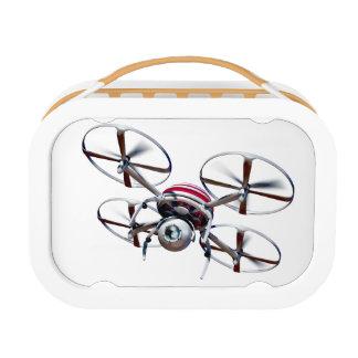 Drone quadrocopter lunch box