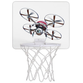 Drone quadrocopter mini basketball hoop