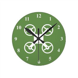 Drone wall clock