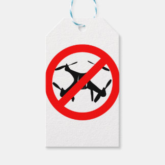 Drones not Allowed Gift Tags
