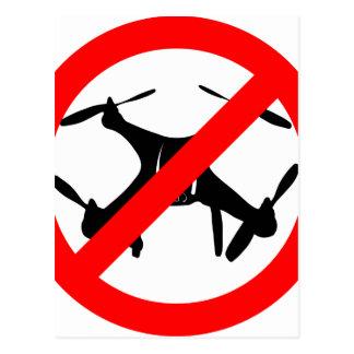 Drones not Allowed Postcard