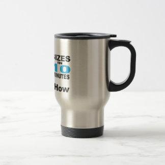 Drop 3 Sizes Stainless Mug