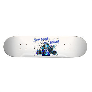 Drop Bass Not Bombs Excursion vs Weapons Skate Board Decks