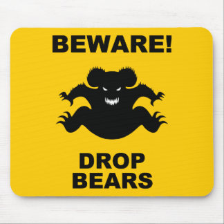 Drop Bears! Mouse Pad
