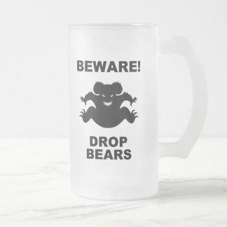 Drop Bears! Coffee Mugs