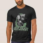 Drop Beats Not Bombs Abe Lincoln Quote T Shirts