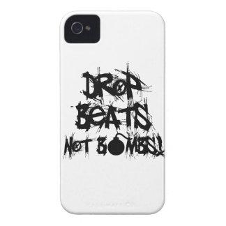 Drop Beats Not Bombs iPhone 4 Covers