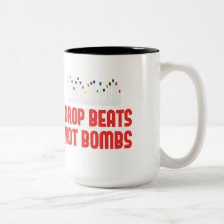 drop beats not bombs DJ and music producer Mug