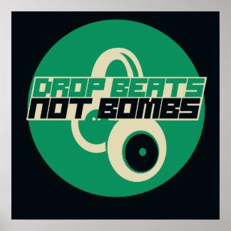 Drop Beats not Bombs Poster