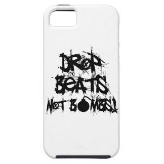 Drop Beats Not Bombs Tough iPhone 5 Case
