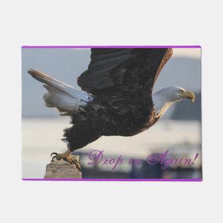 Drop In Again Eagle Doormat