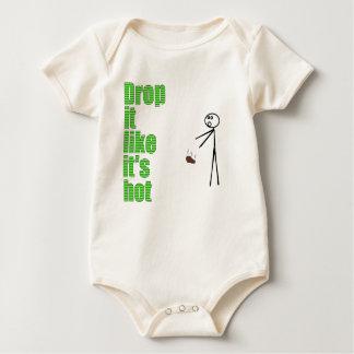 Drop it like it's hot baby bodysuit