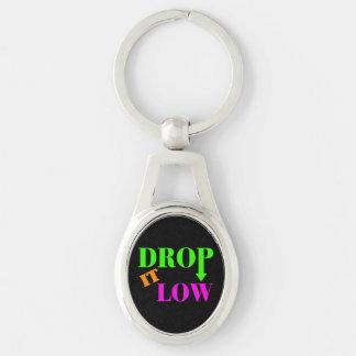 Drop It Low Neon Style Key Ring
