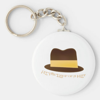 Drop Of A Hat Key Chain