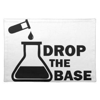 Drop the Base Placemat