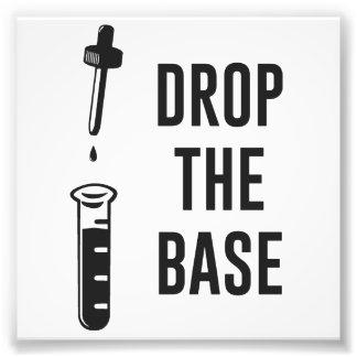 Drop the Bass Chemistry Base Art Photo