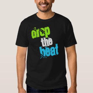 drop the beat dj inspired black t-shirt