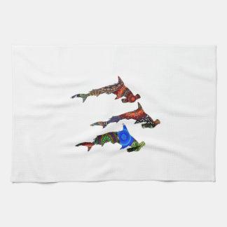 DROP THE HAMMERS TEA TOWEL