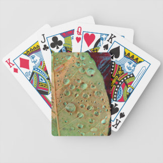 Droplet Leaf Playing Cards