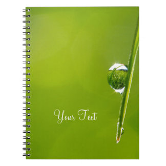 Droplet Spiral Note Book