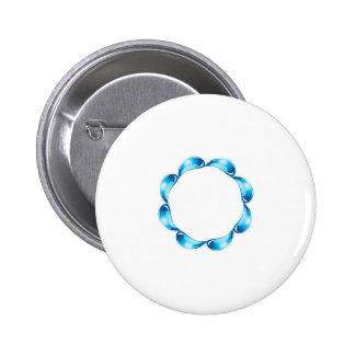 Droplets artwork pin