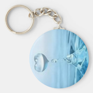 Droplets of Love Key Ring