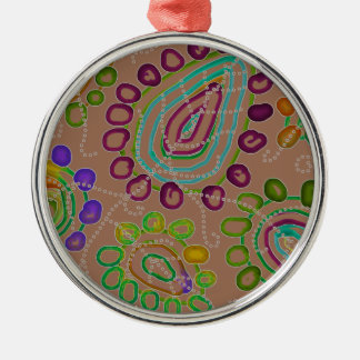 Drops Morphed 2 Metal Ornament
