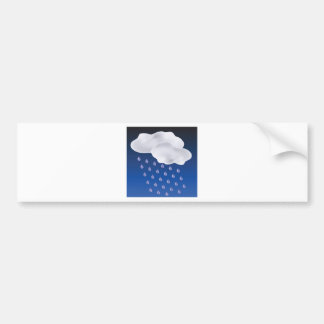 Drops of Rain Bumper Sticker