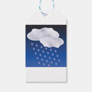 Drops of Rain Gift Tags