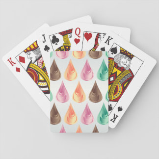 Drops playing card